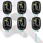Accordeur de Guitare Electrique Uktunu A3-CS Tuner 360 Degrés Rotation Digital Ecran en Couleur LCD Violon Ukulélé Guitare Classique Folk Mandoline Banjo Chromatique à Pince Debutant Mélomane de la marque Uktunu image 3 produit