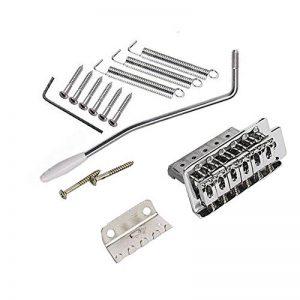 Buwico Guitare électrique Tremolo Bridge For Fender Stratocaster Strat Assembly Remplacement de la marque Kmise image 0 produit