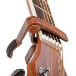 COOME Capodastre Guitare Capo 6 corde Acoustique et électrique Capodastres Folk Changement rapide Capo pour Guitare Classique, Banjo, Ukulélé, Couleur Rosewood de la marque COOME image 4 produit