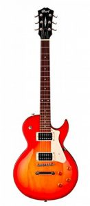Cort CR100 Guitare électrique Single Cut Cherry Red Sunburst de la marque Cort image 0 produit