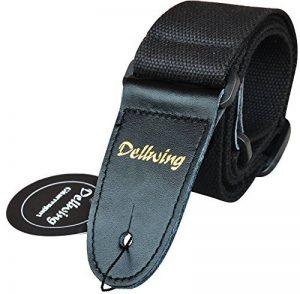 Dellwing - Sangle de guitare haute qualité – pour guitare folk, acoustique, électrique, guitare basse de la marque Dellwing® image 0 produit