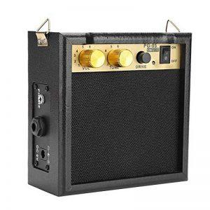 Dilwe Ampli Guitare électrique, PG-05 5W DC 9V amplificateur de Guitare amplifié avec bandoulière Accessoire pour Guitare électrique de la marque Dilwe image 0 produit