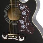 Epiphone EJ-200SCE - Guitare Electro-Acoustique - Noir de la marque Epiphone image 1 produit