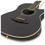 Guitare Électro-Acoustique Roundback par Gear4music Black de la marque Gear4Music image 1 produit