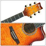LYTIVAGEN 14 Pcs Goupilles de Chevalet de Guitare, Broches de Pont de Guitare en Plastique Pièces Accessoires pour Guitare Acoustique Folk (Noir et Blanc) de la marque LYTIVAGEN image 4 produit