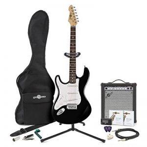Pack Complet avec Guitare Électrique LA pour Gaucher et Ampli 35 W Black de la marque Gear4Music image 0 produit