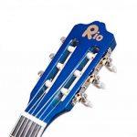 RayGar Kit guitare acoustique 3/4 pour enfants débutants entre 9 et 12 ans avec housse, sangle, cordes, diapasons et DVD d'apprentissage (en langue anglaise) 3/4 Size Bleu de la marque RayGar® image 2 produit