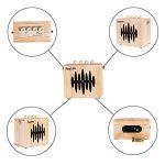 Rayzm ampli combo guitare électrique,Mini Ampli guitare 5 watts avec ceinture sangle, adaptateur secteur/prises Aux-In/Headphone, haut-parleur 4 pouces, batterie incluse. de la marque Rayzm image 1 produit