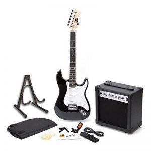 RockJam RJEGPKG Guitare électrique avec Amplificateur/Tuner/Capodastre/Médiator/Sac de transport de la marque RockJam image 0 produit
