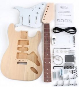 Rocktile DIY Kit de Construction Guitare Électrique Style ST de la marque Rocktile image 0 produit