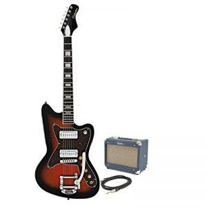 Silvertone 1478 Guitare Électrique + Ampli à Lampes 5W SubZero Red Burst de la marque Silvertone image 0 produit