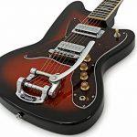 Silvertone 1478 Guitare Électrique + Ampli à Lampes 5W SubZero Red Burst de la marque Silvertone image 2 produit
