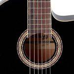 Stagg C546TCE BK Guitare électro-acoustique Classique Nylon Noire de la marque Stagg image 1 produit
