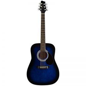 Stagg SW201 3/4 BLS Guitare acoustique Taille 3/4 Bleu de la marque Stagg image 0 produit
