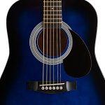 Stagg SW201 3/4 BLS Guitare acoustique Taille 3/4 Bleu de la marque Stagg image 2 produit